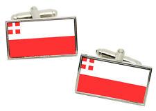 Utrecht (Netherlands) Flag Cufflinks in Chrome Gift box