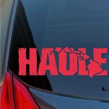 Distressed Haole Hawaiian Islands sticker decal wood tiki newcomer white western