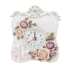 Europe Retro Style Quartz Clock With 3D Follower Decoration