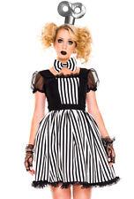Sexy womens adult voo doo windup doll costume set
