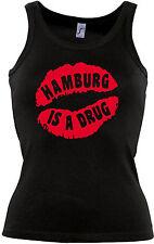 SEXY KUSSMUND HAMBURG IS A DRUG COOLES LADIES TANK-TOP-T-SHIRT!