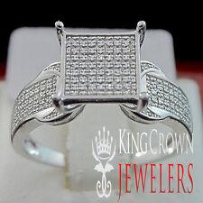 LADIES WOMENS REAL GENUINE DIAMOND 0.50 CTW BRIDAL ENGAGEMENT WADDING RING  BAND