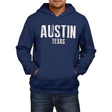Austin Texas American stato Felpa con cappuccio Uomo Donna Ragazzi Ragazze USA CALCIO BASEBALL
