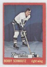 1973-74 O-Pee-Chee #35 Bobby Schmautz Vancouver Canucks Hockey Card