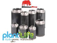 Rhino Pro Carbon Filters 4,6,8,10,12 inch Hydroponics Premium Odour Control