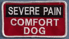 SEVERE PAIN COMFORT DOG service dog vest patch
