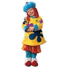 NEW disney store  CLOWN COSTUME CUTE FOR GIRLS NEW XS Jo Jo