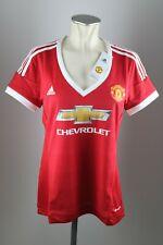 Manchester United Damen Trikot Gr. L 42-44 Chevrolet Adidas Neu Frauen ManU