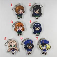 Anime Girls und Panzer Acrylic Keychain Key Ring straps