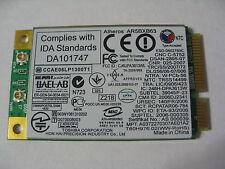 Toshiba Satellite A305D-S6848 Mini PCI-e Wireless AR5BXB63 V000102890 (K53-01)