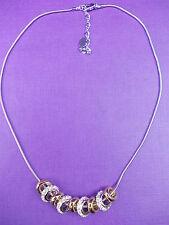 Aro De Oro Con Estrás Cristales Diamante Joyería Encantos Collar -30% De Descuento