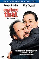 Analyze That (DVD, 2003, Full Frame)
