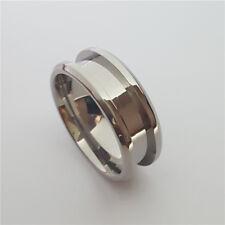 Titanium Ring Blank for Inlay