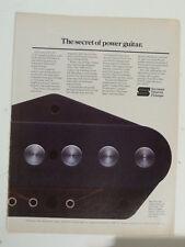 vintage magazine advert 1982 SEYMOUR DUNCAN PICKUPS