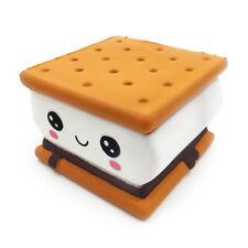 Jumbo Apretable Juguete De Chocolate galleta de helado Japón queso crema de café Elástico