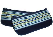 MIXTE : GRANDE Trousse patchwork coton ou velours différentes couleurs - zip