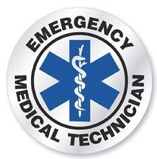 EMT Emergency Medical Technician Hard Hat Decal Hardhat Sticker Helmet H123