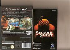 Second Sight NINTENDO GAMECUBE/WII RARA 2ND vista