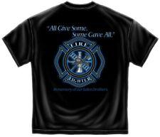 Firefighter T-Shirt Maltese Gave All Black