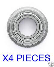 ROULEMENT F 6700 ZZ 10X15X4 EPAULES (4pcs) RODAMIENTO RC BEARING FLANGED