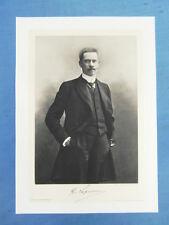 FRANCE CONTEMPORAINE DELTOUR PORTRAIT 1905 : F. DE LAPËRSONNE