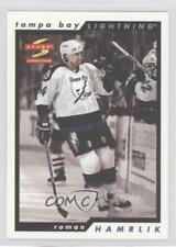 1996-97 Score Golden Blades #127 Roman Hamrlik Tampa Bay Lightning Hockey Card