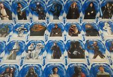 Topps Star Wars Masterwork 2018 BLUE PARALLEL Base Set Card - Choose your Card!