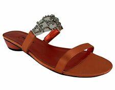Ragazza Camelot Women's Silk Slides Sandals Shoes