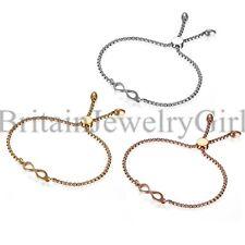 NEW Fashion Infinity Bracelets Adjustable Love Friendship Bangle For Women*2MM