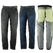 Hommes Moto Denim Pantalon Jeans 2 Longueur avec Doublure Protective
