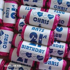 Personalizzato Mini Amore Cuori dolci Happy Birthday Party Bag favorisce 20-100