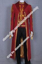 Legend Of The Seeker Cosplay Darken Rahl Costume  Coat Vest Halloween Clothing
