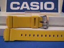 Casio Watch Band DW-5600 CS-9 Mustard 16mm Resin Strap. G-Shock Watchband