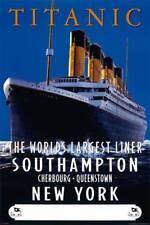 Titanic - Advertising Schiffe Ships Film - Poster Druck - Größe 61x91,5 cm