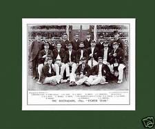 MOUNTED CRICKET TEAM PRINT - THE AUSTRALIANS - 1893