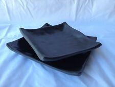 Thick Heavy Melamine Square Dinner Plates 5  6  Serving Side Platter ... & Square Melamine Dinnerware Plates | eBay