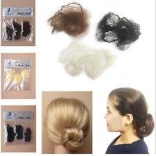3 Hair Net Snood Mesh Fine Bun Cover Equestrian Slumber Sleek Cover Invisible