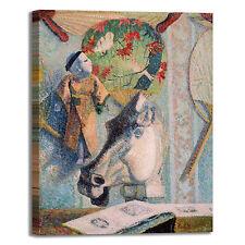 Gauguin natura morta testa cavallo quadro stampa tela dipinto telaio arredo casa