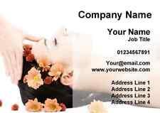 Beauty Salon Spa Treatment Massage Personalised Business Cards