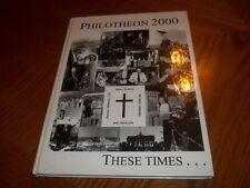 2000 Philadelphia Montgomery Phil-Mont Christian Academy Erdenheim Pennyslvania