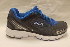 boys kids womens  fila running trainers grey blue uk 3 uk 4 uk 5