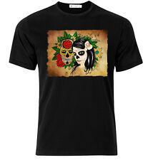 El Dia De Los Muertos X   - Graphic Cotton T Shirt Short & Long Sleeve