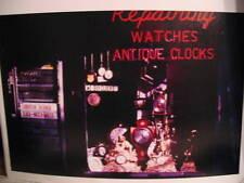 1970 Antique Watch Clock Store New York City Photo