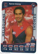 2012 Teamcoach SILVER (32) Aaron DAVEY Melbourne
