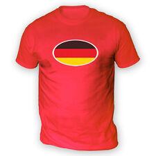 Bandera De Alemania Para Hombres Camiseta-x13 Colores-Deutschland Copa de fútbol Euro Car Alemania
