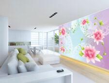 3D Flowers Vines 5 Wallpaper Murals Wall Print Wallpaper Mural Aj Wall Au Kyra