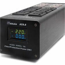 Hi-Fi Weiduka LED Audio Power 3000W Purifier Lightning Protection Power Socket