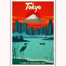59272 Japan Tokyo Land of the Rising Sun Vintage Wall Print Poster CA