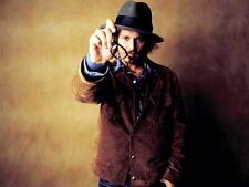 Johnny Depp Glasses Hat Jacket Hot Handsome Actor Giant Print POSTER Affiche