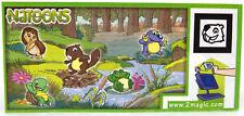 Überraschungsei Figuren Kinder Natoons Wald Tiere 2011 Auswahl UeEi